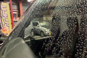 洗車の続きとコーティング。